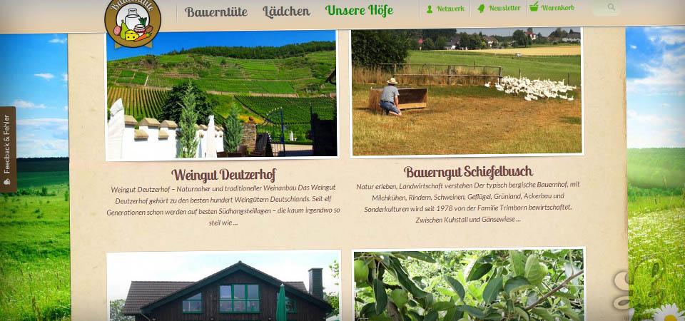 Bauerntüte.de Online Shop - Traditonelle Lebensmittel vom Bauernhof