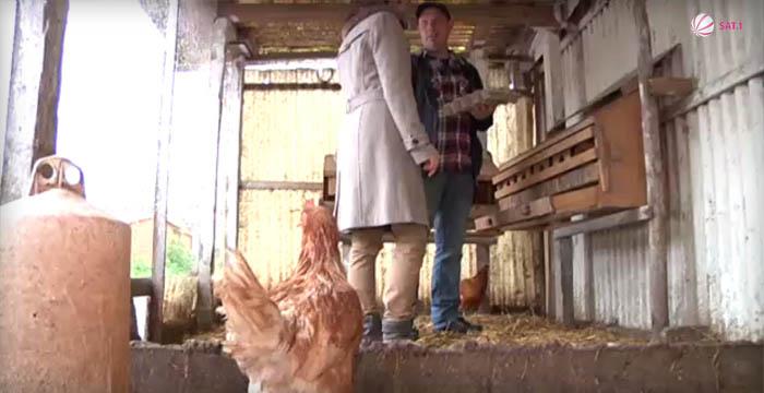 Bauerntüte TV-Bericht (Sat1): Im Stall
