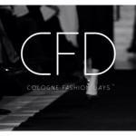 Logo-Banner des Cologne Fashion Days 2014