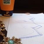 Cafe, Planungen für Modekampagne