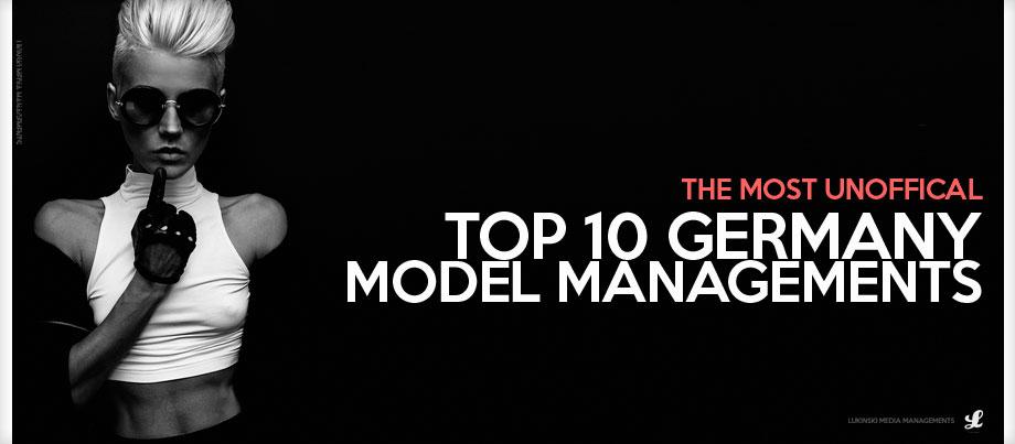 Kampagne, Model im Karl Lagerfeld Look für Top 10 Modelagenturen Deutschland