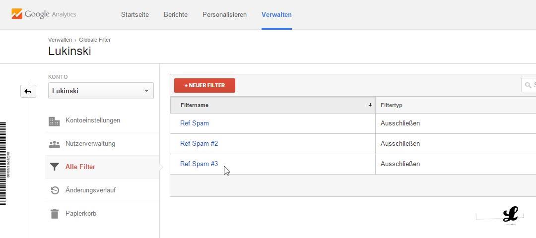 referral-spam-google-anayltics-neuer-filter-entfernen-blockieren-ausschliessen-03-mehrere-filter-anlegen