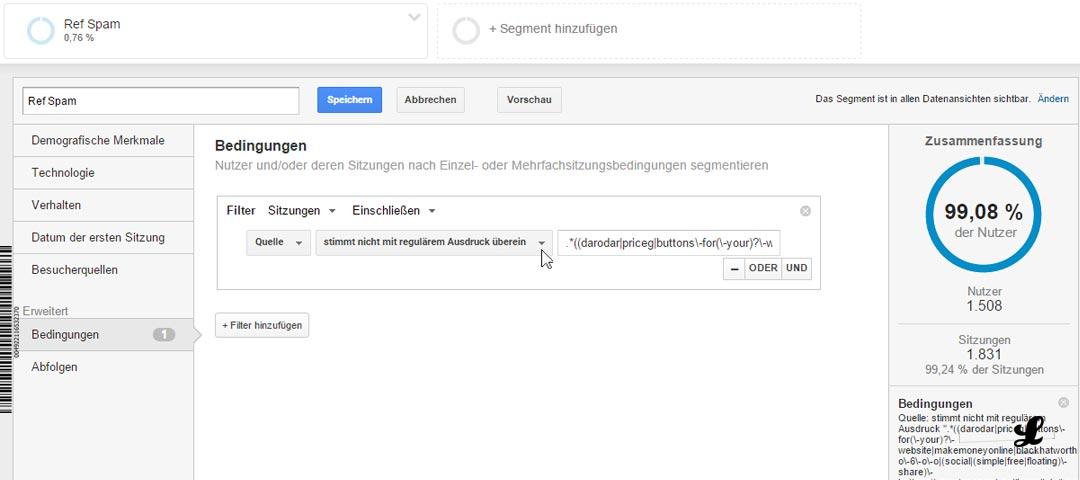 referral-spam-google-anayltics-neuer-filter-entfernen-blockieren-ausschliessen-05-filtern-hinzufuegen-einstellen