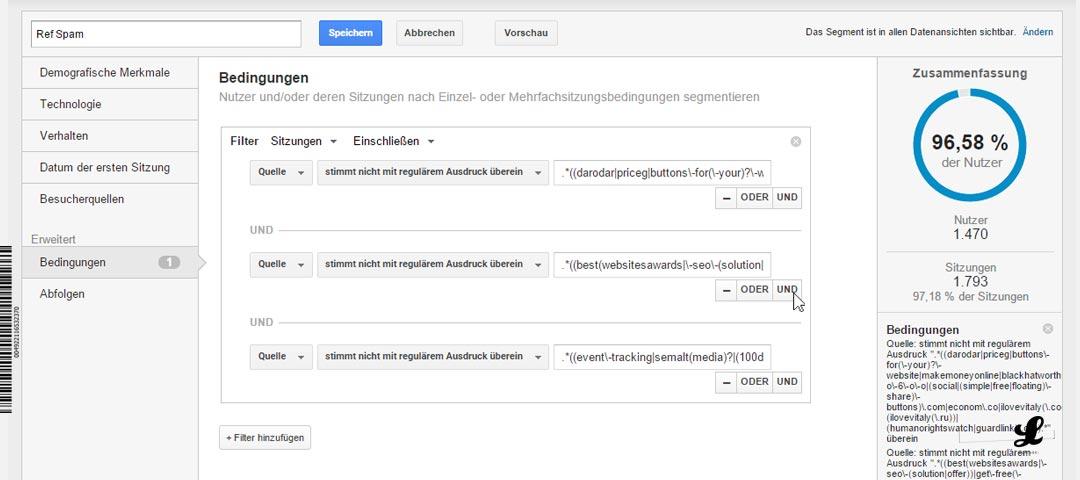 referral-spam-google-anayltics-neuer-filter-entfernen-blockieren-ausschliessen-06-mehrere-filter-kombinieren