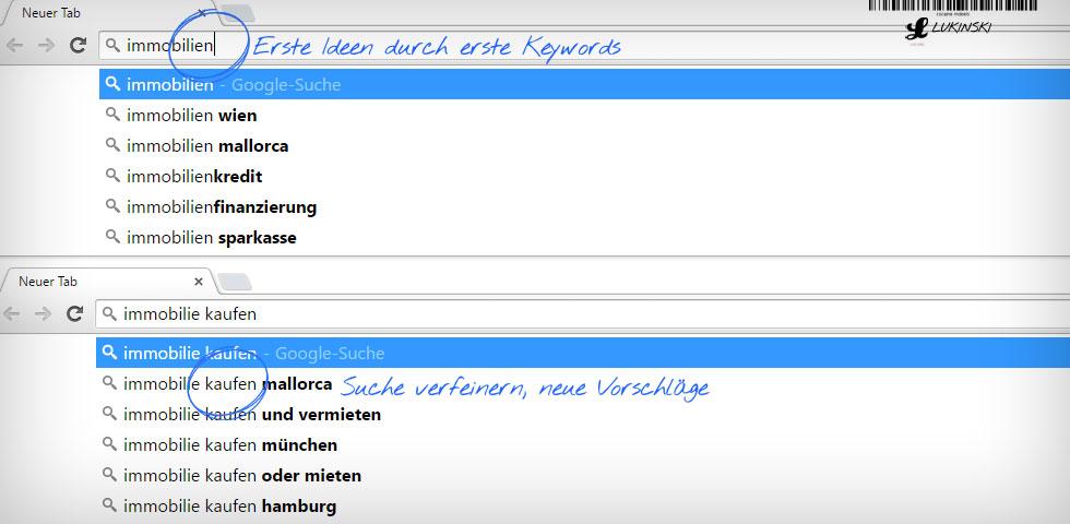 content-marketing-planung-google-suchergebnisse-vorschlaege-suggestions-keywords-finden