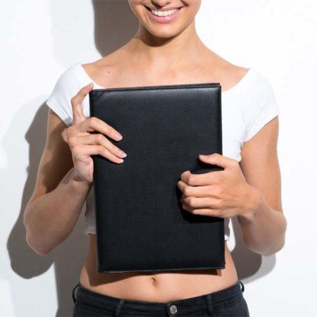 Modelmappe / Modelbook / Portfolio Buch online bestellen und kaufen - Tipps für Models