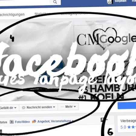 Facebook Fanpage für Firmen - Neuer Look, neues Design für 2016