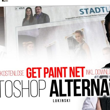 Photoshop Alternative - getpaint.net: Fotos und Bilder zuschneiden (Tutorial)