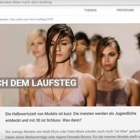 Das Karriereende von Models - Im Interview mit DRadio Wissen