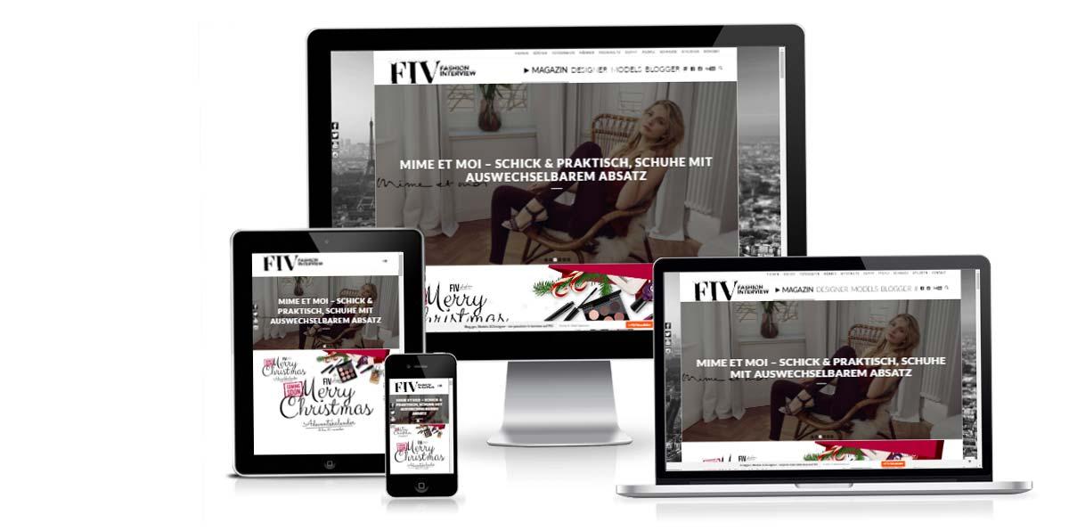 Blogger, Influencer & Models: FIV! Das Magazin fivmagazine.com