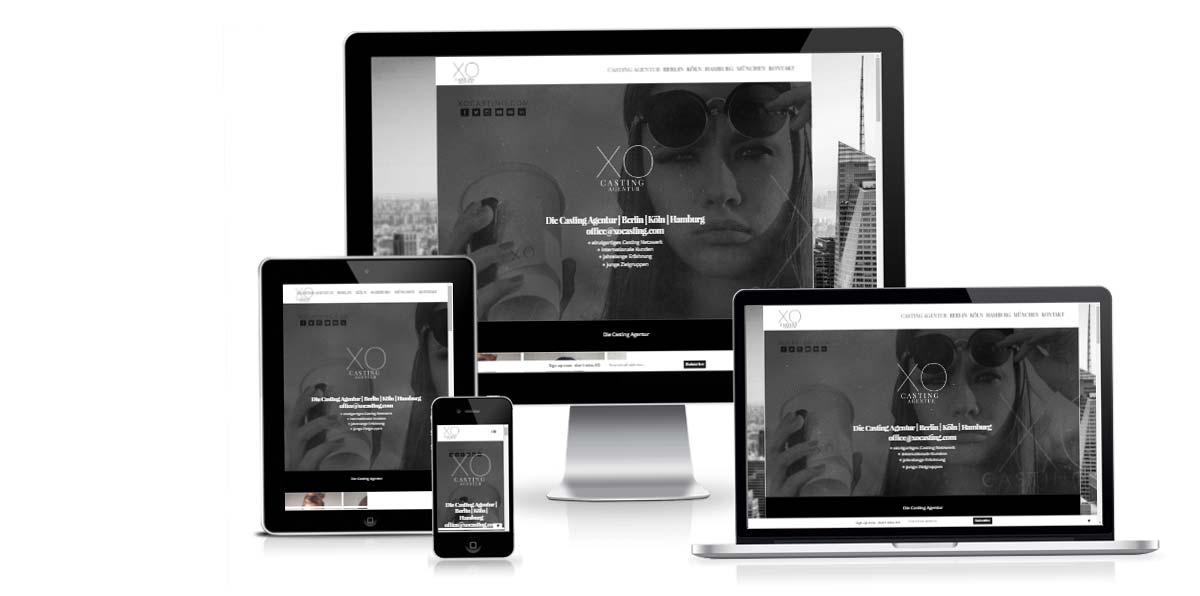 Casting Agentur - Online Marketing, SEO & Design für XO Casting