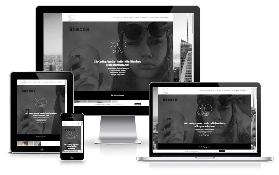 casting-agentur-online-marketing-seo-design-fuer-xo-casting