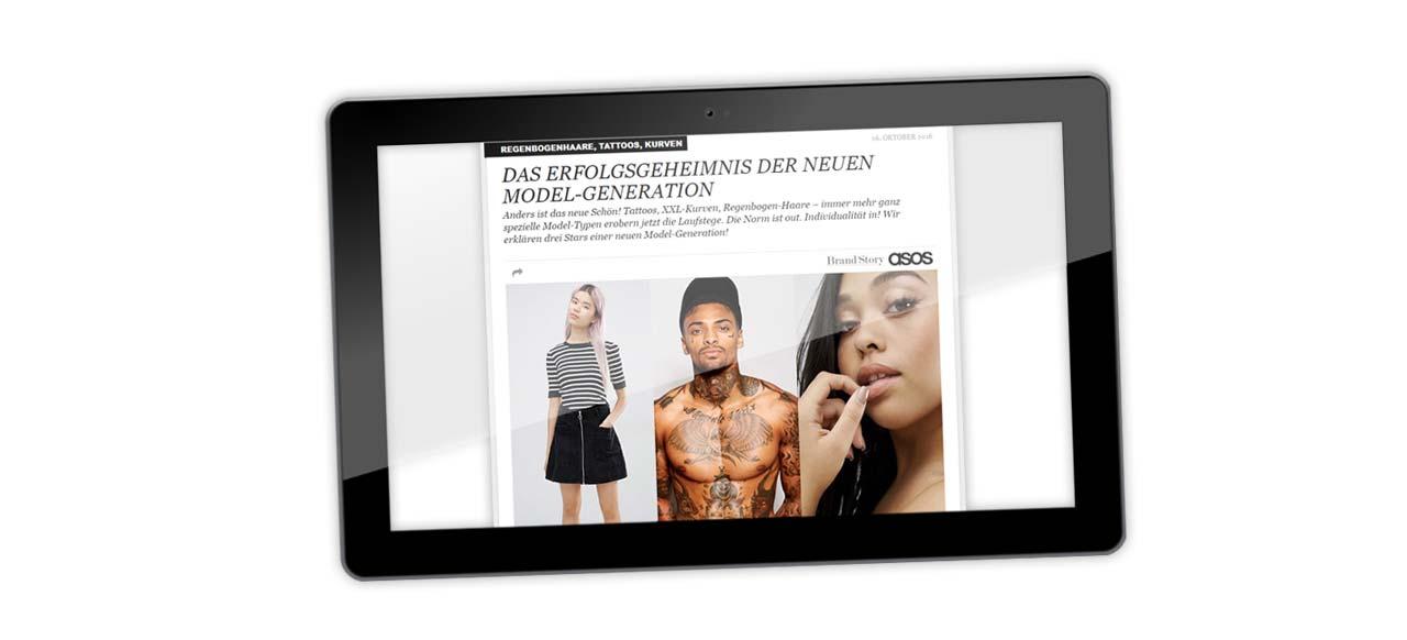 """Im Interview mit Stylebook zur ASOS Kampagne: """"Das Erfolgsgeheimnis der neuen Model-Generation"""""""