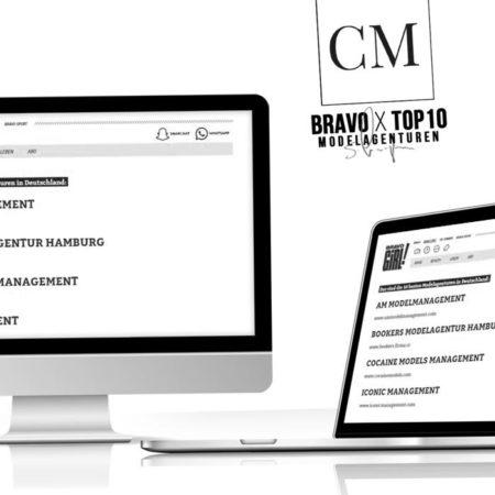 BRAVO: Cocaine Models jetzt unter den Top 10 Modelagenturen