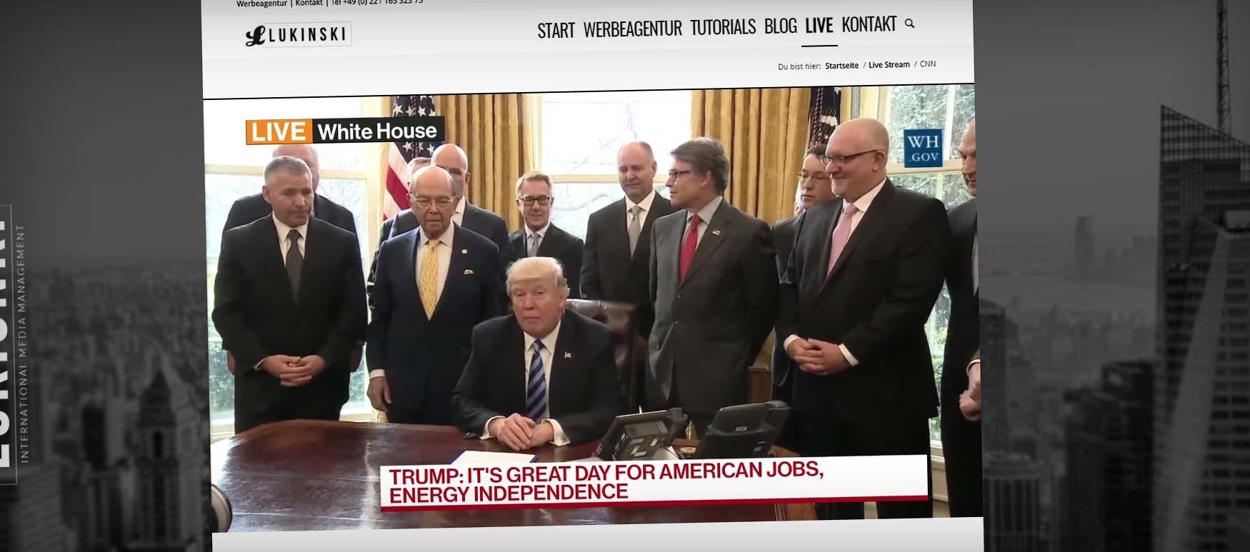 Live Stream | News, Politik, Wirtschaft & Medien: Jetzt bei Lukinski