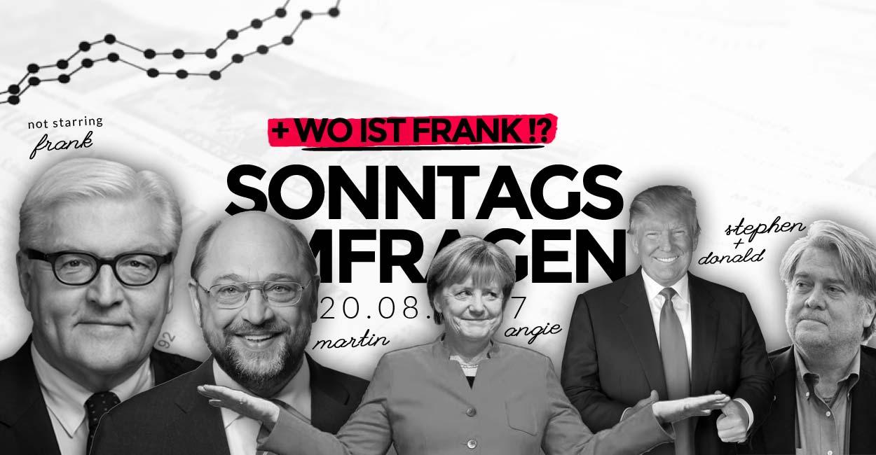 Politik & Wahlen: Neue Kolumne zu Frank Walter Steinmeier, Barcelona und Stephen Bannon