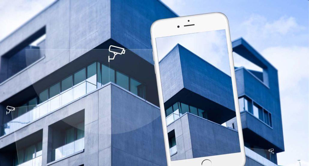 berwachungskamera f r b ro und zuhause diebstahl und einbruchsschutz mit handy wlan. Black Bedroom Furniture Sets. Home Design Ideas