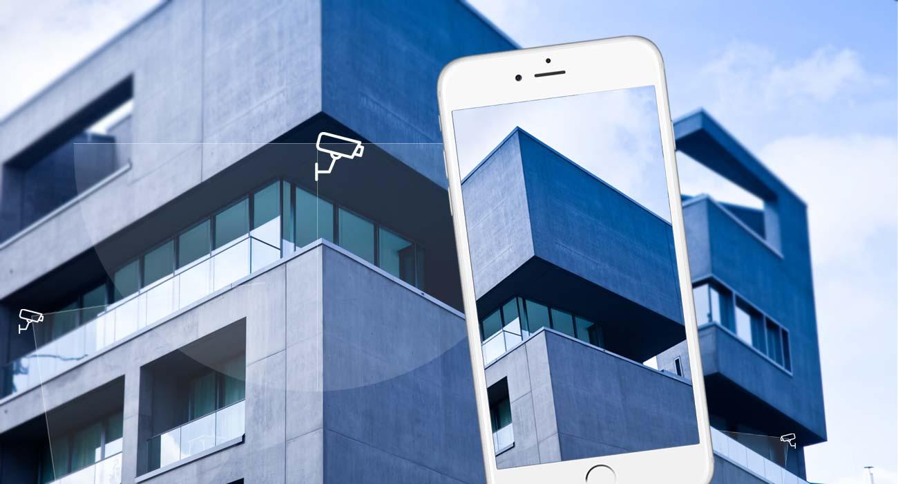 Überwachungskamera für Büro und Zuhause: Diebstahl- und Einbruchsschutz mit Handy + Wlan