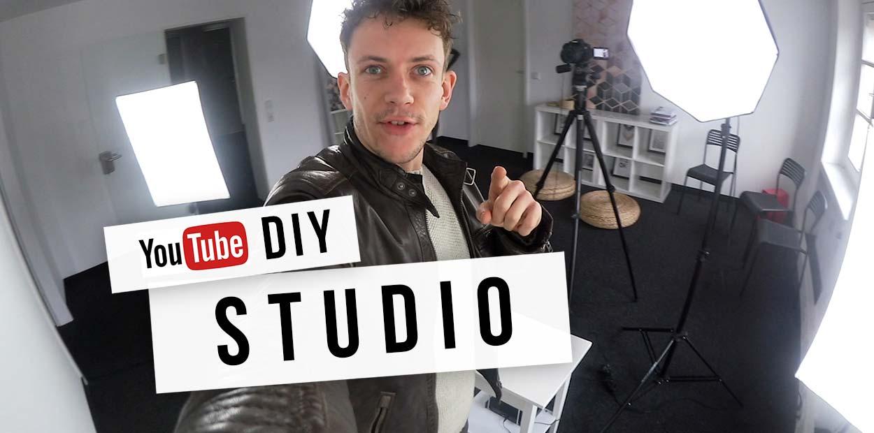 Youtube Studio einrichten: Kamera, Beleuchtung & Co: Tutorial für Anfänger