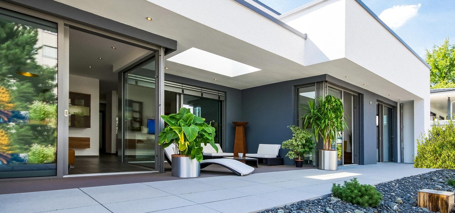 Terrasse zur Erhöhung der Wohnqualität