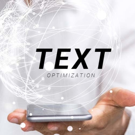 Text optimization - search engine optimization (SEO) with structure in texts