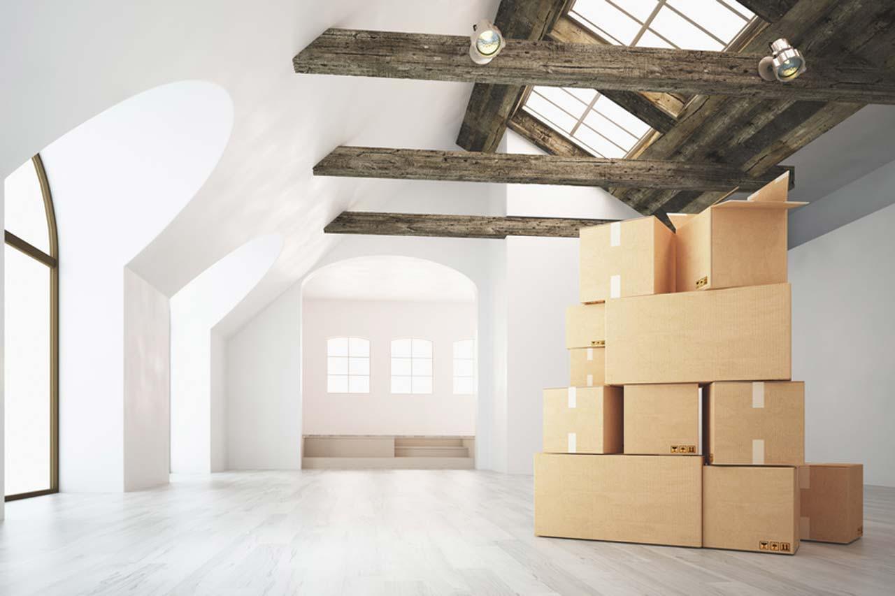 Dachschräge - Möbel, passende Farbwirkung & auf Englisch