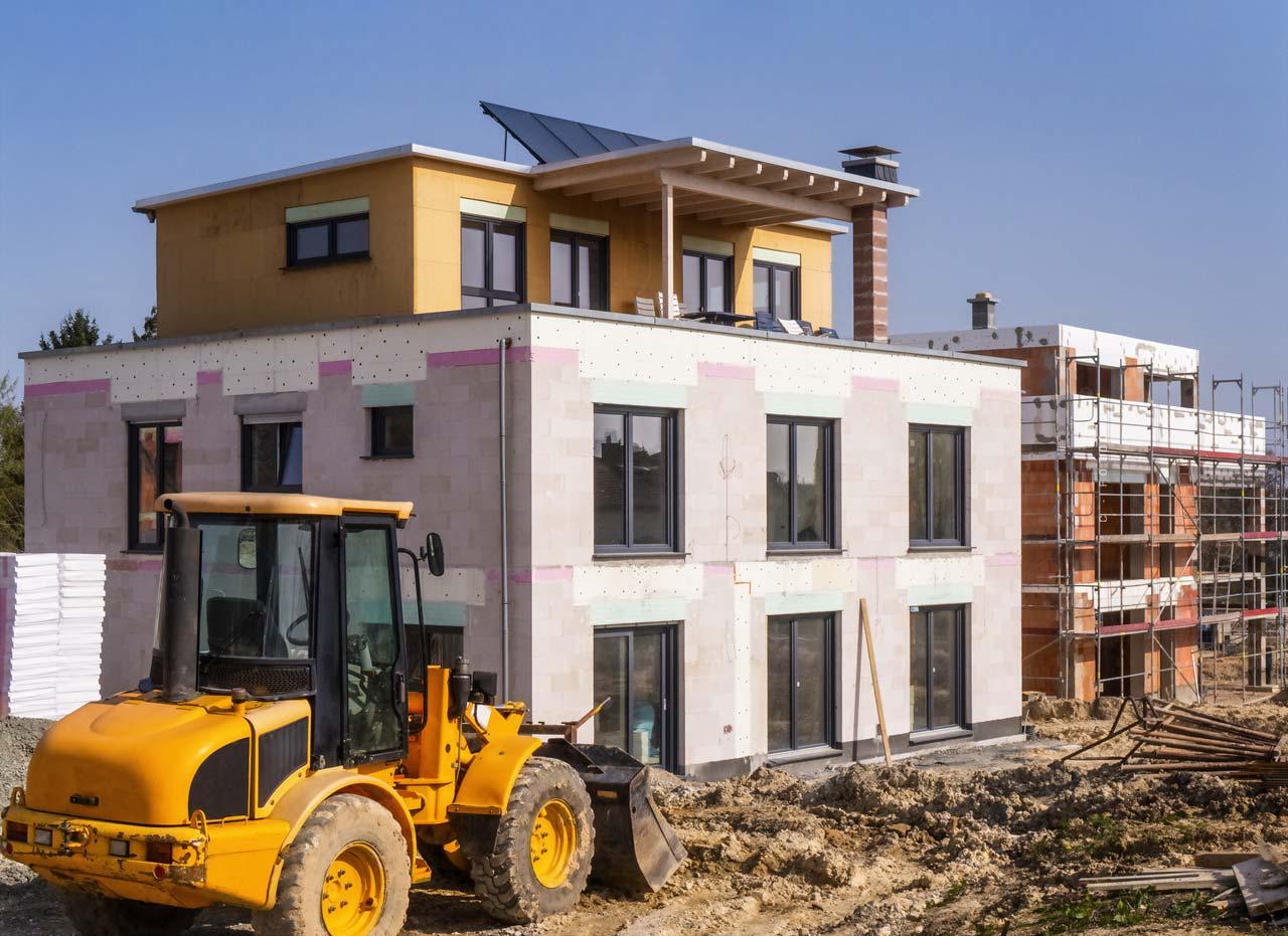 Instandhaltungsmaßnahme (Immobilie) zum Erhalt der Bausubstanz
