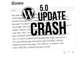 WPBakery Page Builder funktioniert nicht mehr? WordPress 5.0 Update
