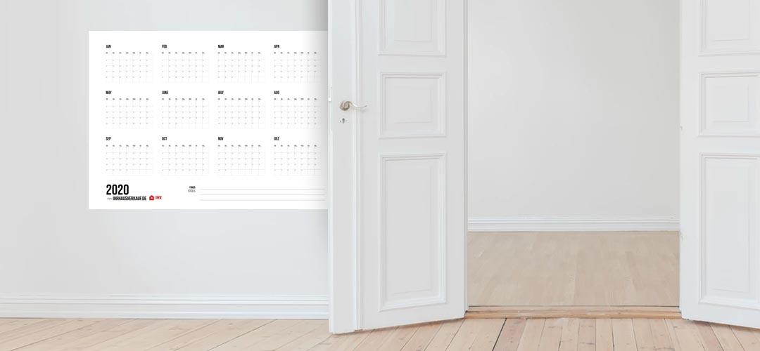 Kalender 2020 zum Ausdrucken: Alle Monate und Wochen als PDF (12+1 Vorlage, kostenlos)