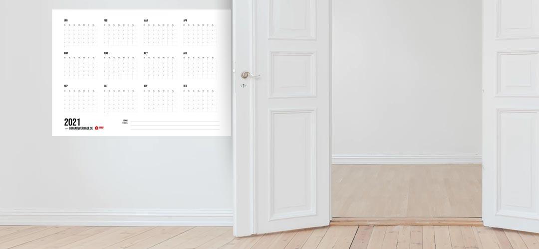 Kalender 2021 zum Ausdrucken: Alle Monate und Wochen als PDF (12+1 Vorlage, kostenlos)