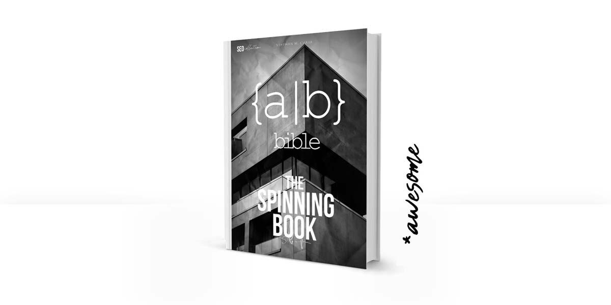 The Spinning Book - Massenhafte Texterstellung und Daten Generierung