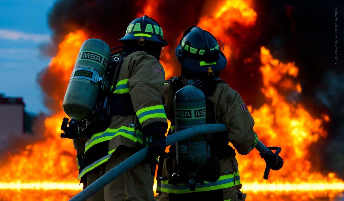 Brand, Explosion & Blitzschlag - Haben sie eine Feuerversicherung?