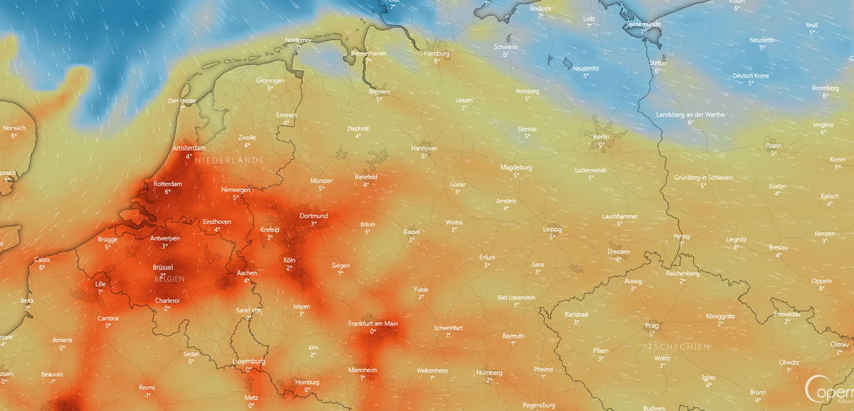 Wetter in Chemnitz: Feuchtigkeit, Wind, Baustelle und Vorhersage
