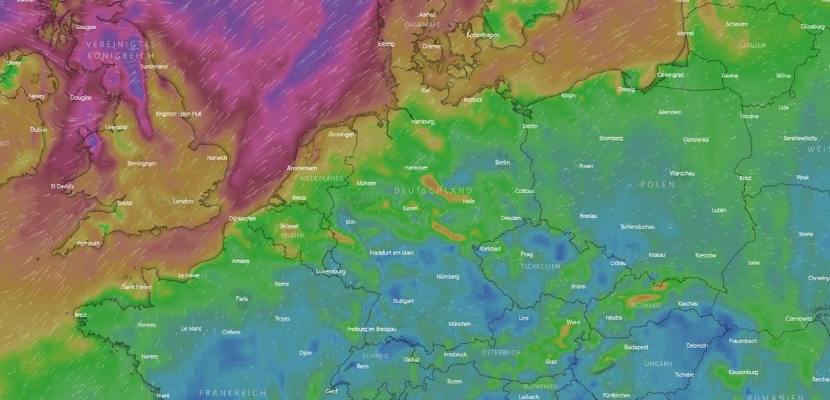Wetter in Berlin: Regen, Vorhersage und Temperatur