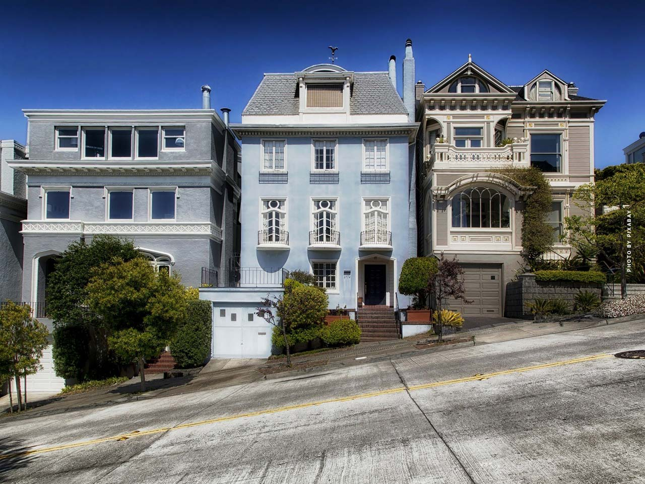 Luxus Immobilienmakler San Francisco: 300 m² Eigentumswohnung, Designer-Häuser und Stadtvilla
