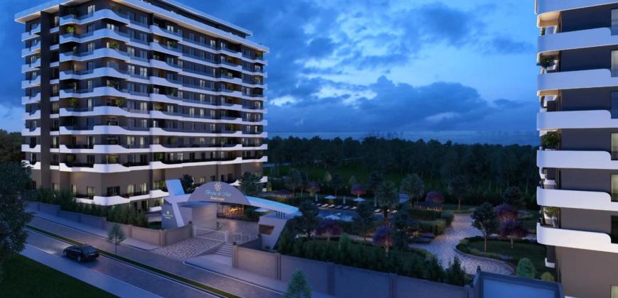 Istanbul, Türkei 34530 – Penthouse Eigentumswohnung 2.970 SqFt Kumburgaz – $570,000