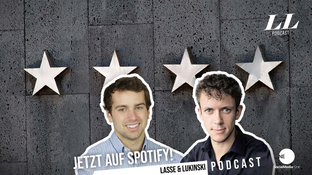 Podcast: Marketing! Mit Lasse & Lukinski - Strategien, Social Media, Werbung, Geld verdienen & Co.