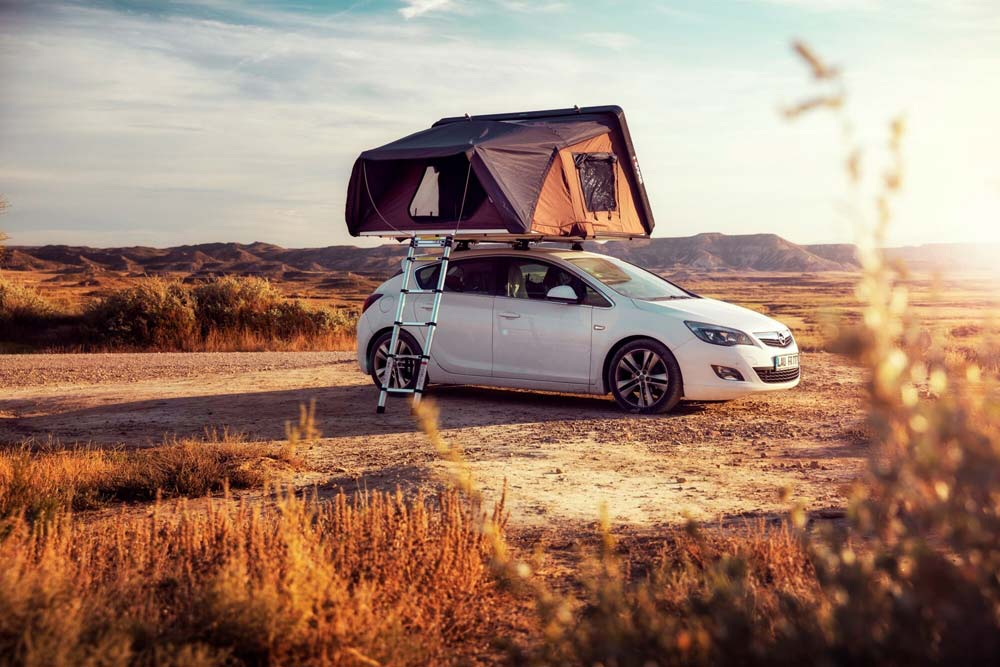 Dachzelt kaufen: Vergleich, Camping bis zu 4 Personen im mobilen Zuhause