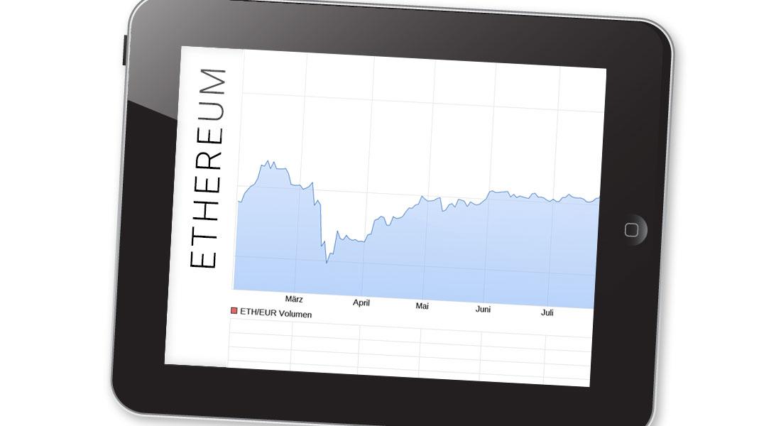 Ethereum (ETH) kaufen: Kurs, Wert & Kursverlauf