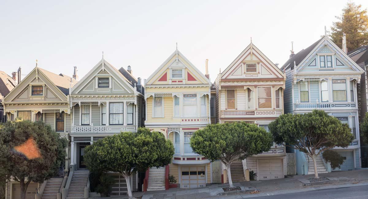 San Francisco: Immobilien kaufen! Bezirke zum Investieren - The Mission, Nob Hill, SoMa, Co.